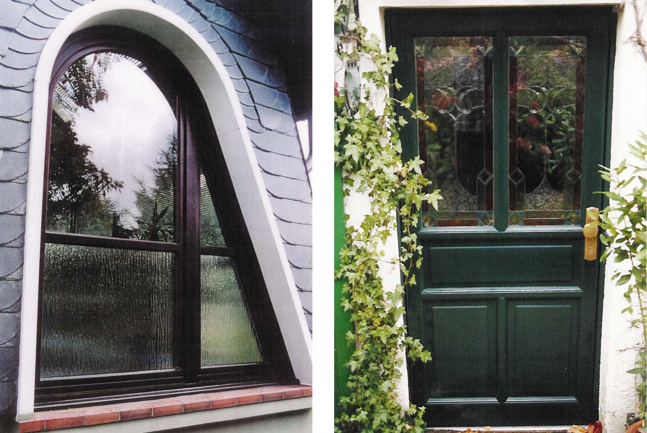 Schreinerei Halbach · Fenster & Haustüren